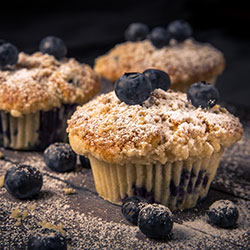Muffin Blueburry Burst
