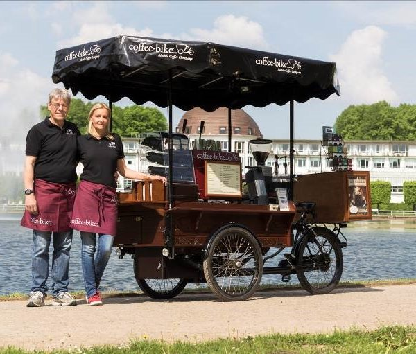 Exhibition Stand Hire Bristol : Coffee bike mobile company