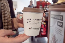 Coffee to go – a trend continues to develop